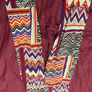 Multicolor one size leggings